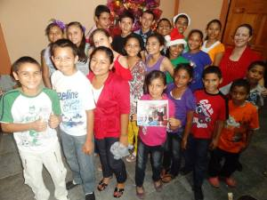 Hogar kids at Christmas_Dec 25 2013